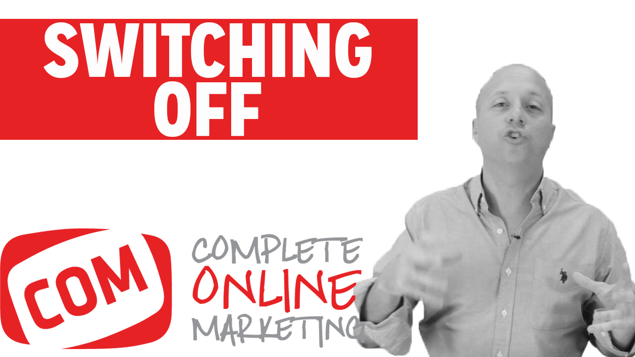 Read more about the article Why Switching off can improve your business #14